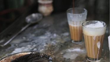 Tea stall milky tea copy