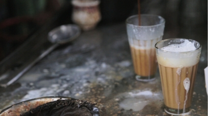 Tea stall milky tea copy